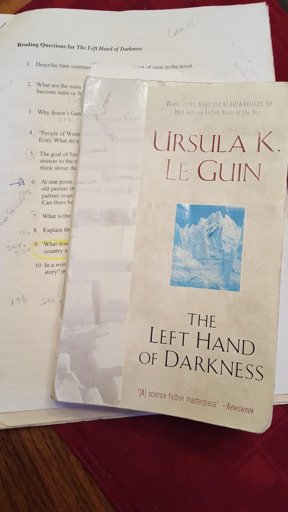 Photo of Left Hand of Darkness by Ursula Le Guin