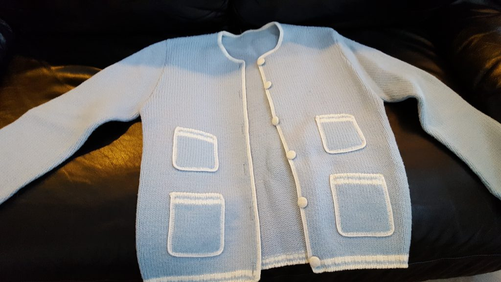 Photo of a sweater from my grandmother