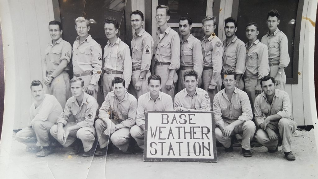 Picture of the weather station crew